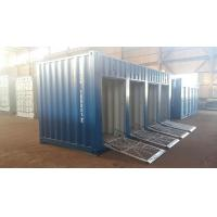 Quality 20ft motorcycle trunk room container with shutter door for sale