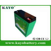 Buy cheap 11.1V/ 12V 10ah Lithium Polymer Battery Pack For Lead Acid Battery Replacement from wholesalers