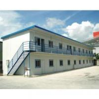 Quality Low Cost Labor Prefabricated Accommodation With Light Steel Structure for sale