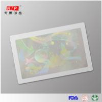 China Hologram Id Overlay Cold laminating film with holographic logo on sale