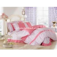 China Apple Red Girls Bedding Sets on sale