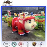 Quality Theme Park Ride on Animals Pig For sale for sale