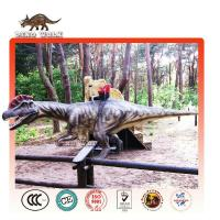 Buy cheap Amusement Park Coin Operated Dino Ride for Kiddie from wholesalers