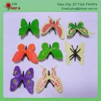 Quality plastic butterfly hair clips Plastic Butterfly for sale