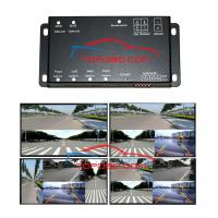 China 360 Full View 4 Cameras Split-Image DVD/DVR Dual Output Control Box on sale