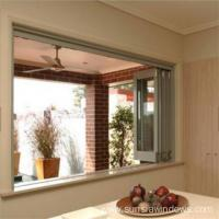 China Aluminum Bifold Door with Double Tempered Glass on sale