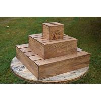 Buy cheap Wood Cupcake Tower. This stand can hold more than 20 cupcakes.. from wholesalers