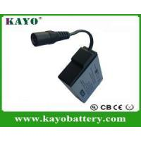 Buy cheap 7.4V Rechargeable Lipo Battery For Heated Jacket from wholesalers