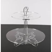 China acrylic cake stand Hot Selling Perspex Cake Stand Set Custom Design on sale