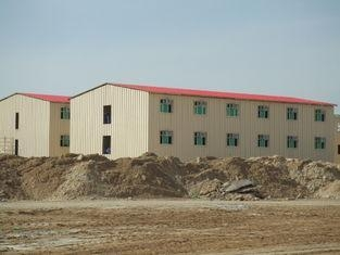 Buy Low Cost Prefab Commercial Buildings / Energy Saveing Prefab Metal Building at wholesale prices