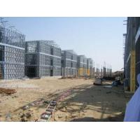 Quality Steel Frame Apartment Building / Typhoon Resistance Prefabricated Homes for sale