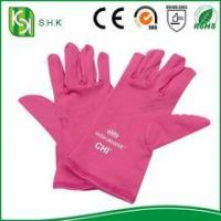 Quality China Cheap Price Pink Protection Cleaning Microfiber Jewelry Gloves for sale