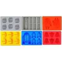 China Silicone Ice Tray for Star Wars Lovers or Party Theme Set of 6 on sale