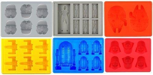 Buy Silicone Ice Tray for Star Wars Lovers or Party Theme Set of 6 at wholesale prices