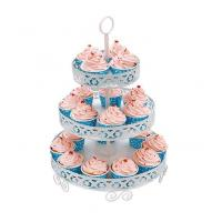 Quality 3-tier Cupcake Holder With Powder Coating for sale