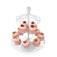 Quality 8 Cups Carousel Cupcake Stand With Powder Coating for sale