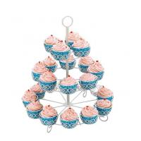 30 Cupcakes Decorated Cupcake Stand With Powder Coating