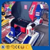 China 2016 China new amusement rides CE proved portable game machine kids walking robot ride for sale on sale