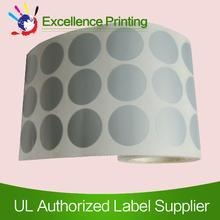 Buy PET adhesive silver sticker at wholesale prices