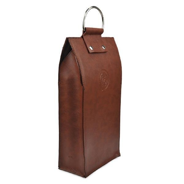 Buy Gift Craft Industrial Use and Handmade Feature leather wine case carrier at wholesale prices