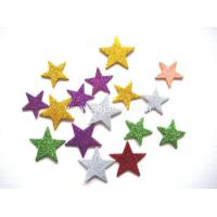 Quality Arts& Crafts Self adhesive glitter star eva sheets,funny shaped self adhesive foam sheet for sale