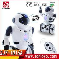 Quality 2016 good price Balance Mini robot Remote Control Boxing Drive Battery RC Robot Toy for sale