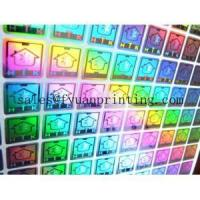 China Customized own logo 3d hologram sticker on sale