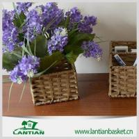 Quality on sale natural color willow wicker storage basket for sale