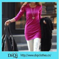 Quality Dress new fall and winter clothes women Korean Slim long section of thick fe... for sale