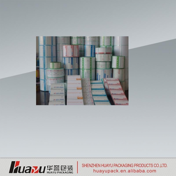Buy Sticker Permanent adhesive sticker label printing at wholesale prices