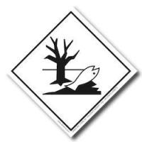 Quality hazardous materials warning labels Vinyl Hazard Placard Labels for sale