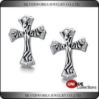 China cheap wholesale cool men s sterling silver celtic cross vintage