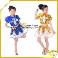 Quality Boy Girl Feather Sequins Kid Jazz Dance Wear/ Girl Jazz Performance Wear/Child Jazz Wear for sale