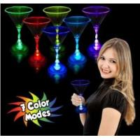 Light Up goblet glass for drinking party