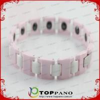 2015 fashion ladies ion energy bracelet with competitive factory price