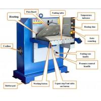 Quality 180T 750x600mm Hydraulic Leather Plating Machine for sale
