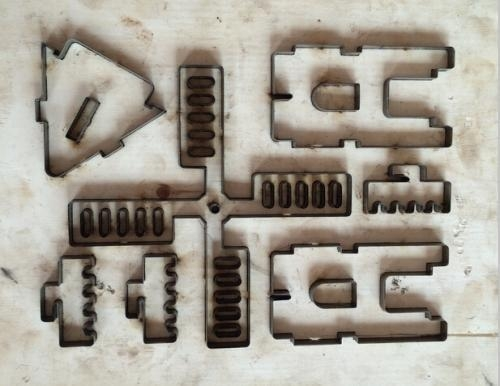 Buy 3D Toys of Plywood Cutting Steel Rule Die at wholesale prices