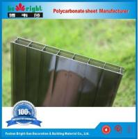 Quality PC Triple-wall sheet Bronze Color for sale