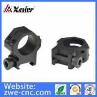 Quality Cnc Milling Parts CNC Machining Gun Scope Mounting Rings, Gun Scope Parts for sale