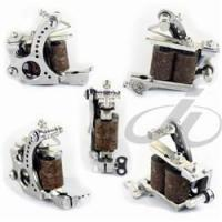 Buy cheap Tattoo Machines Carbon Steel Silver Tone 10 Wraps Tattoo Machine JL-1154 from wholesalers