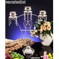 Quality 3 arm party candle holder centerpiece decoration for sale