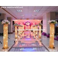 Quality High quality lighted LED Column for wedding,event&party for sale