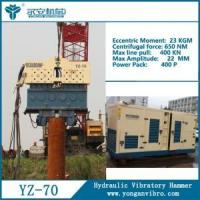 Quality YZ-70 Hydraulic Vibratory Hammer for sale