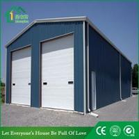 Buy cheap Steel Frame Ware House with Insulation Steel Sandwich Panel from wholesalers