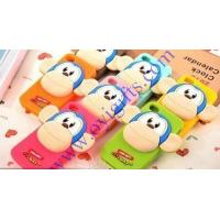 Quality Cartoon 3D monkey silicone phone cases for sale
