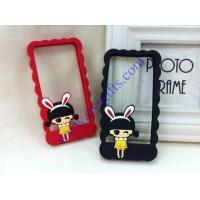 Quality Cartoon silicone phone holder frame for sale