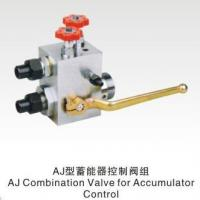 Quality AJ Combination Valve for Accumulator Control for sale