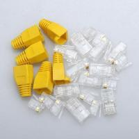 Quality RJ45 connector 8p8c plug CAT5e CAT6 for sale