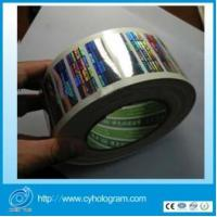 China High Resolution 2d Hologram Stickers in Roll on sale