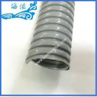 Quality 51mm Grey PVC Coated Flexible Conduit for sale